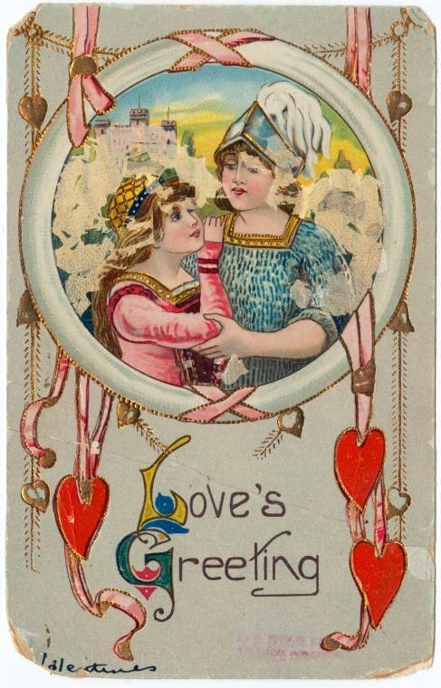 Antique Valentines from the turn of the century (3)
