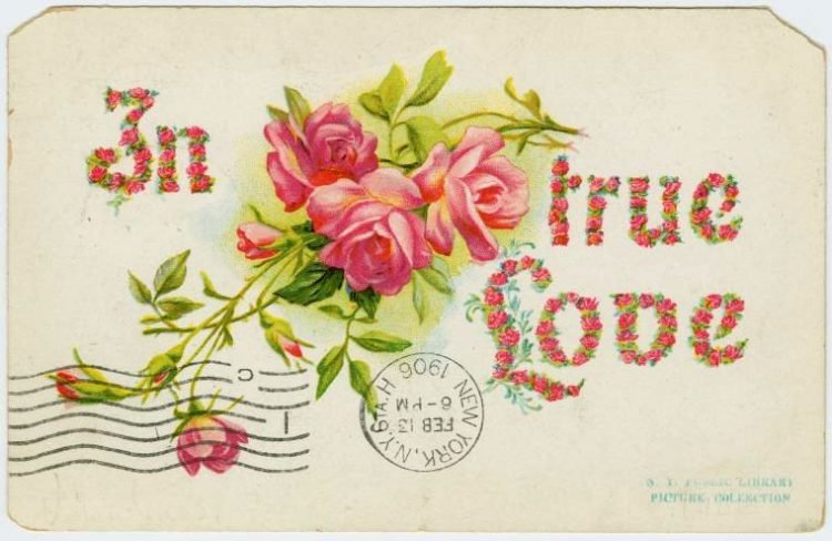 Antique Valentines from the turn of the century (4)