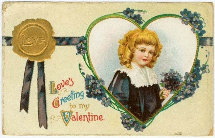 Antique Valentines from the turn of the century (6)
