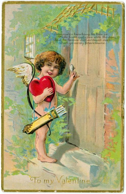 Antique Valentines from the turn of the century (7)