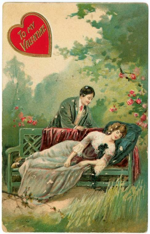 Antique Valentines from the turn of the century (8)