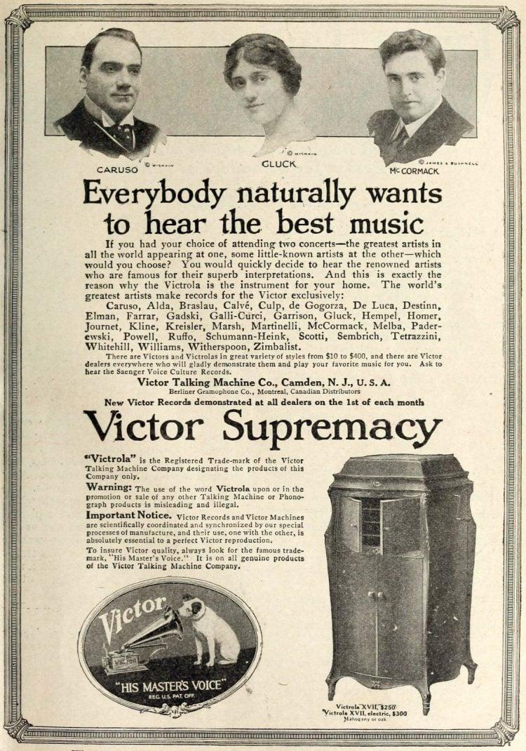 Antique Victrolas - Vintage music (5)