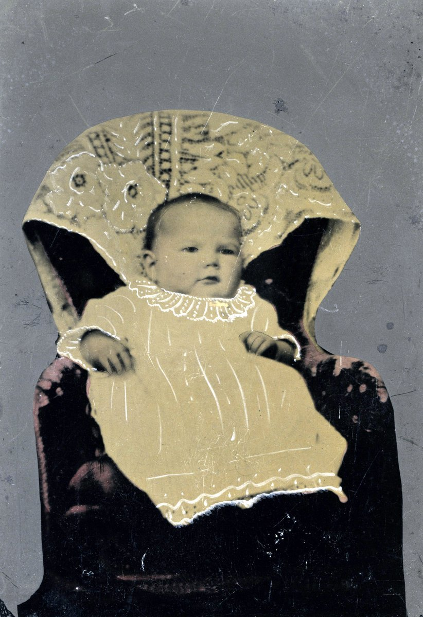 Antique baby portrait (c1870)