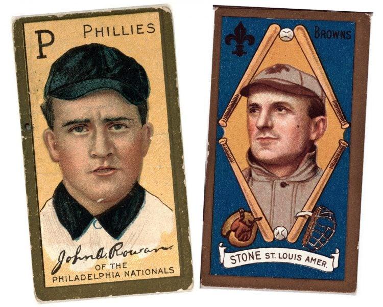 Antique baseball cards (2)