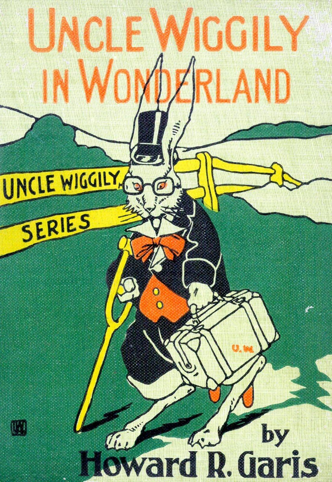 Antique book - Uncle Wiggily in Wonderland (1921)