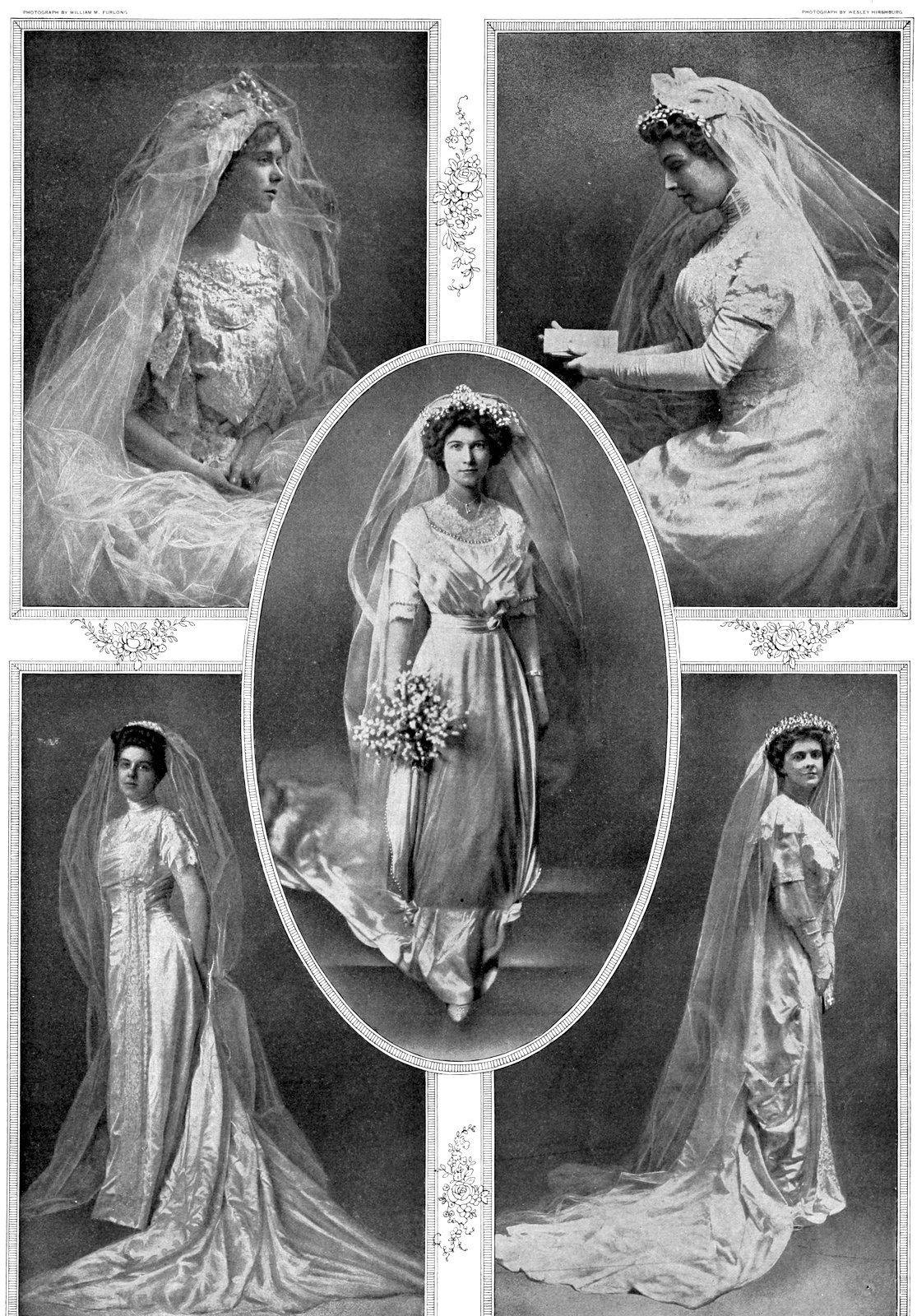 Antique bridal gown - Wedding fashions from 1911 (1)
