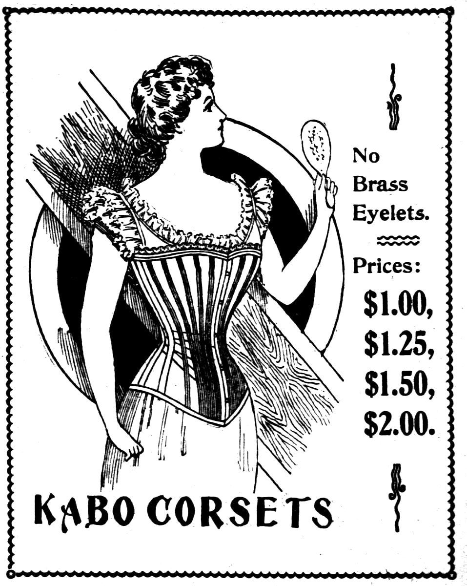 Antique corsets from April 1898 (2)