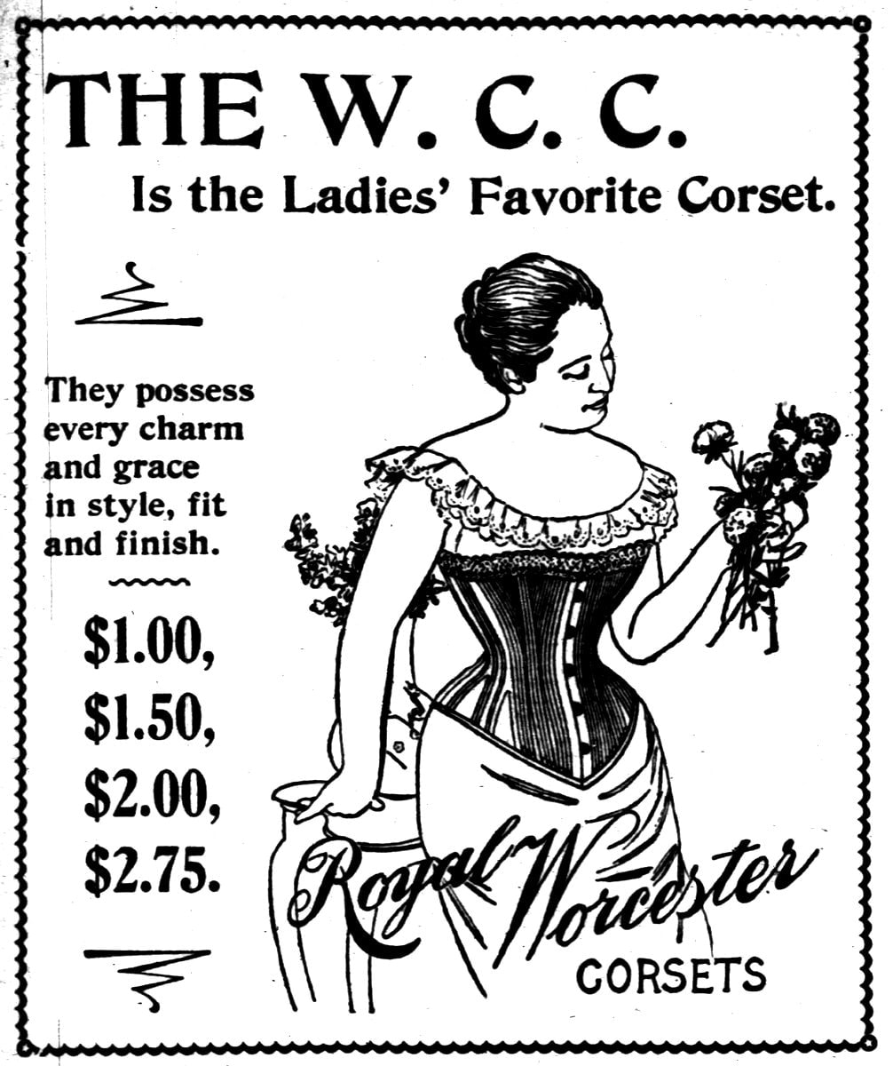 Antique corsets from April 1898 (3)