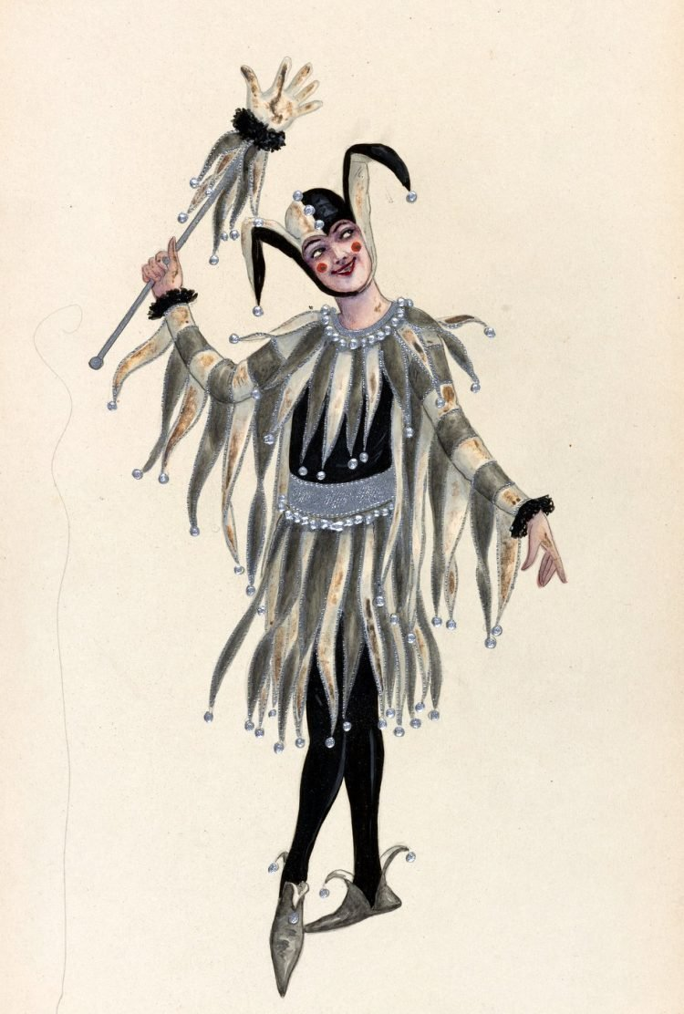 Antique fools and jesters (2)