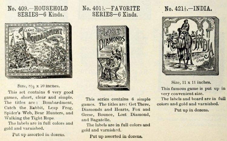 Antique games from 1903 (1)