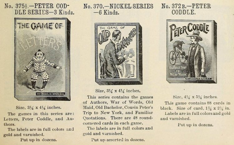 Antique games from 1903 (2)
