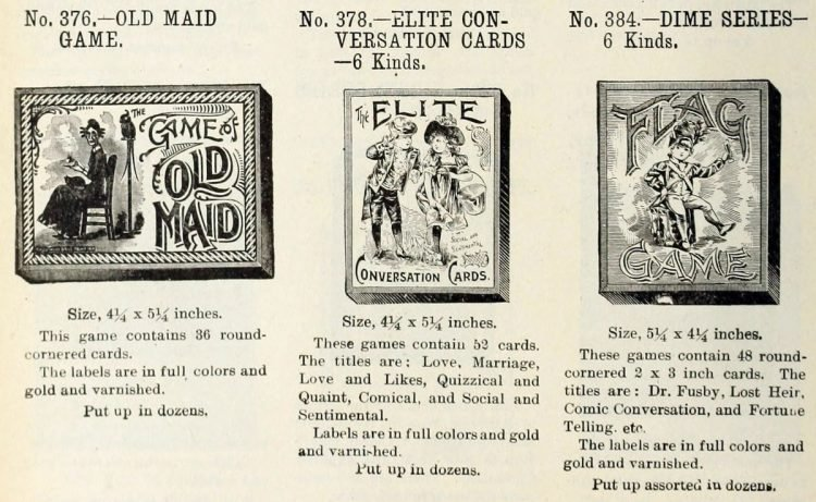 Antique games from 1903 (3)