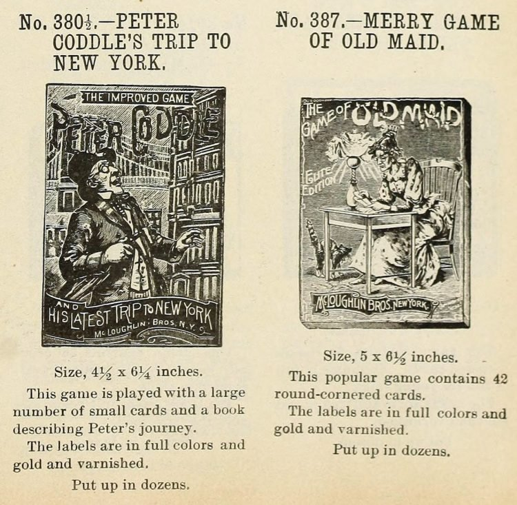 Antique games from 1903 (4)