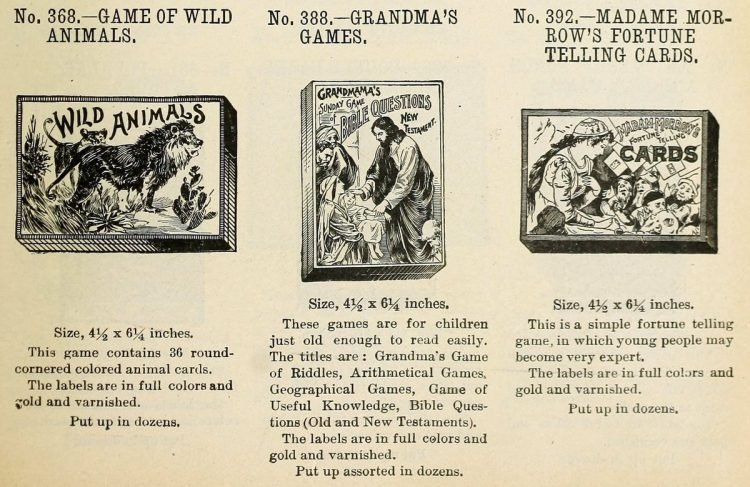 Antique games from 1903 (6)