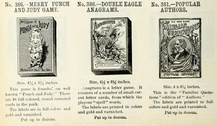 Antique games from 1903 (7)
