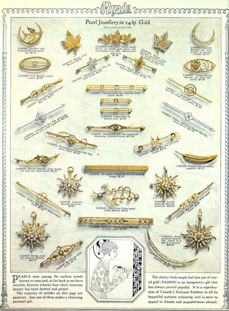 Antique jewelry designs from 1922 (3)