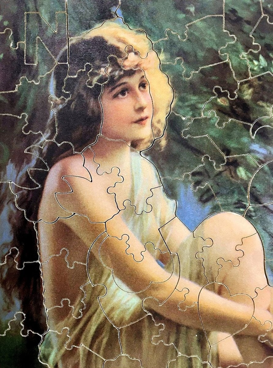 Antique jigsaw puzzle - 1930s - Zula Kenyon