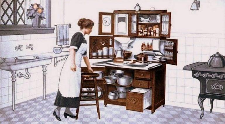 Antique kitchen from 1913