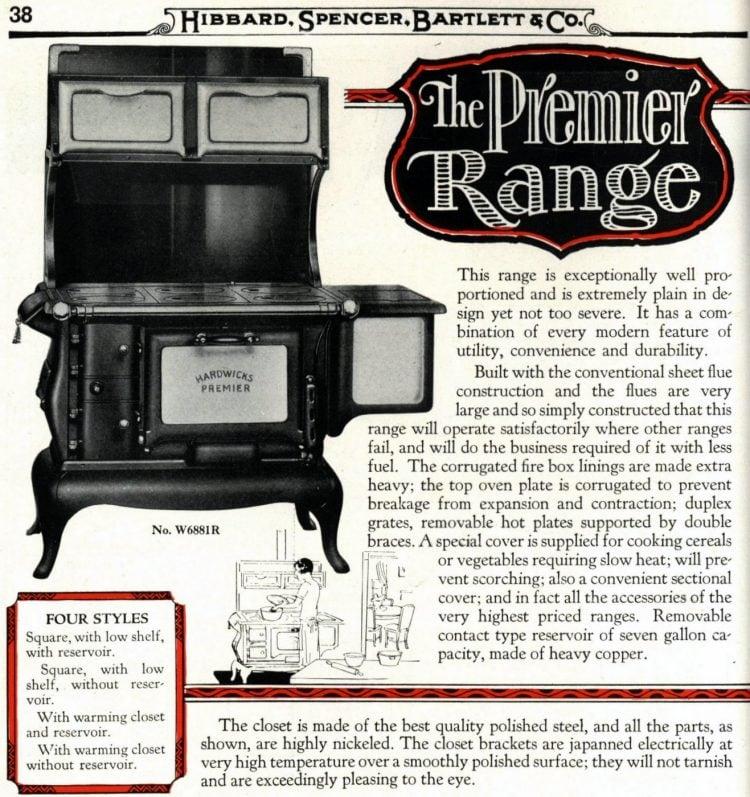 Antique kitchen range stoves from 1929 (4)