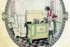 Antique kitchen stoves - 1920 and 1930s