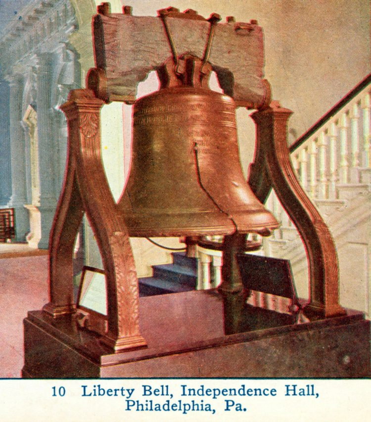 Antique photo of the Liberty Bell (5)