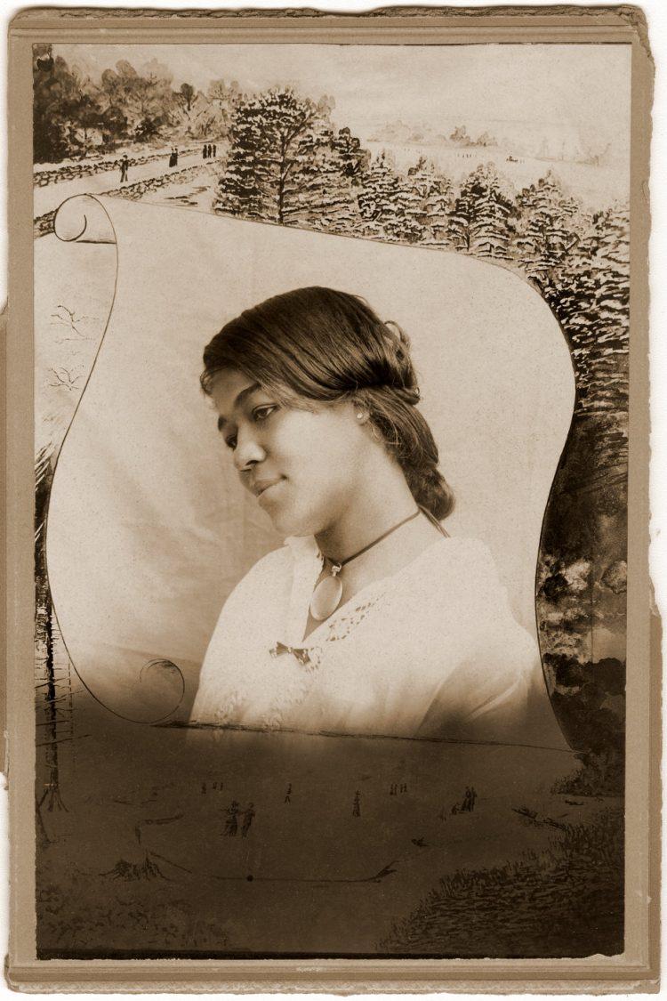 Antique portrait of Black woman