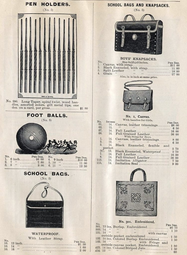 Antique school supplies from 1896 (3)