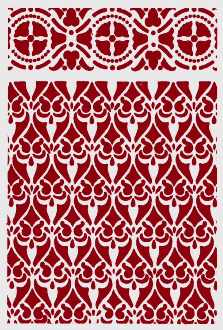 Antique stencil patterns from the 1930s (2)