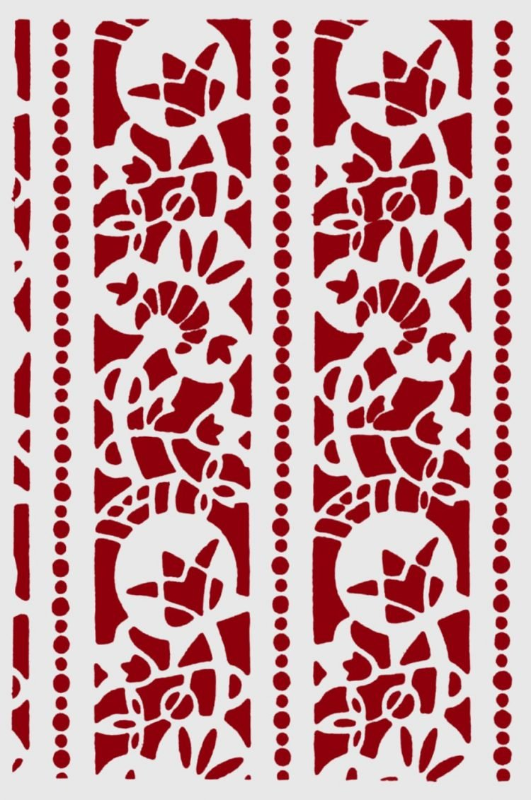 Antique stencil patterns from the 1930s (8)