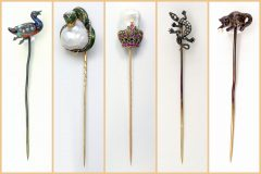 Antique stickpins and scarf pins