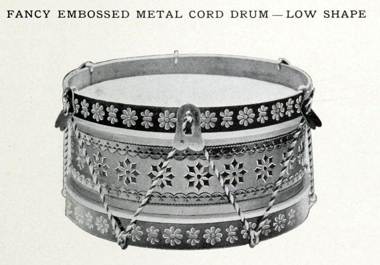 Antique toy drum (1)