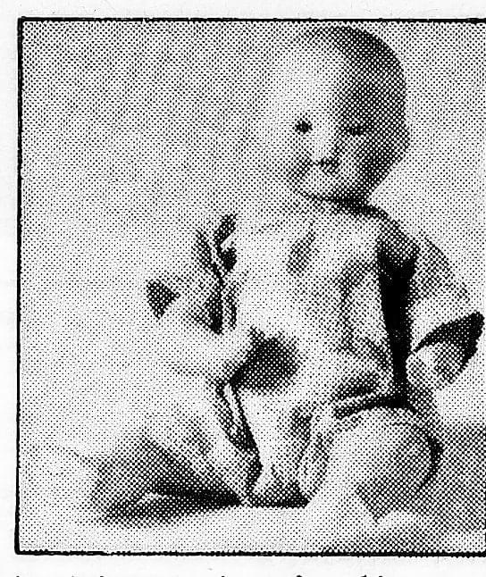 Antique toys - Ceramic baby doll