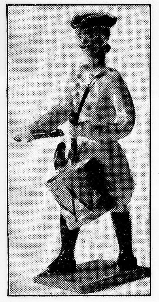 Antique toys - toy soldier