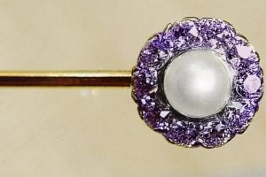 Antique vintage stickpin jewelry