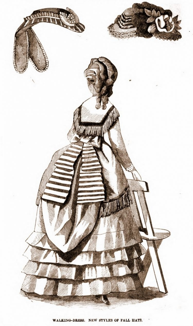 Antique walking dresses from 1869 (6)