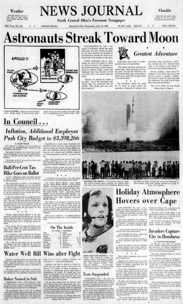News-Journal (Mansfield, Ohio)16 Jul 1969