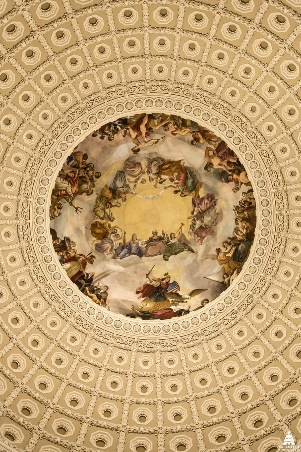Apotheosis of Washington in the Capitol Dome