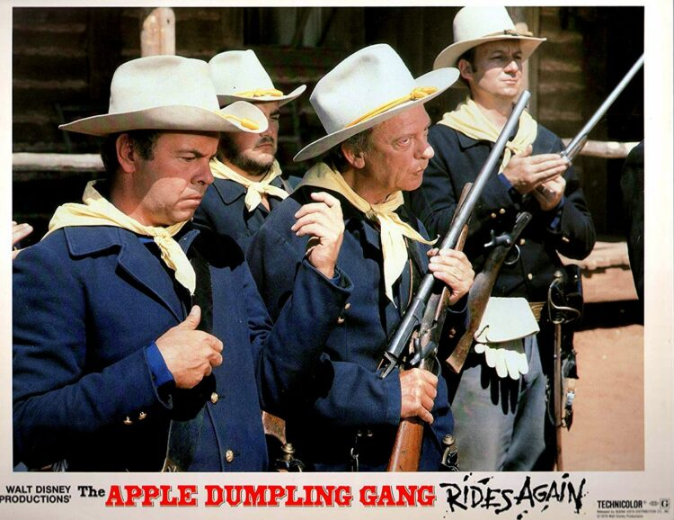 Apple Dumpling Gang Rides Again publicity photo