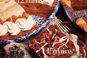 Apple crunch cake, Pumpkin cream pie, Pecan pie recipes 1985 (3)