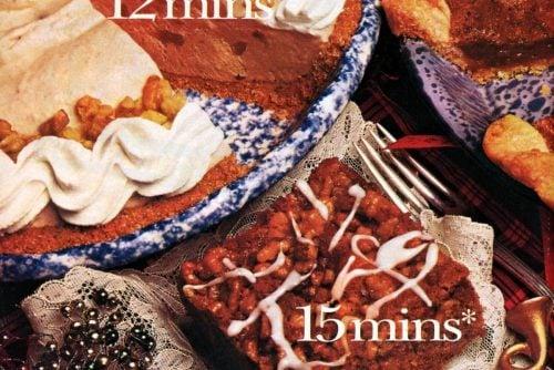 Apple crunch cake, Pumpkin cream pie, Pecan pie recipes 1985 (3)