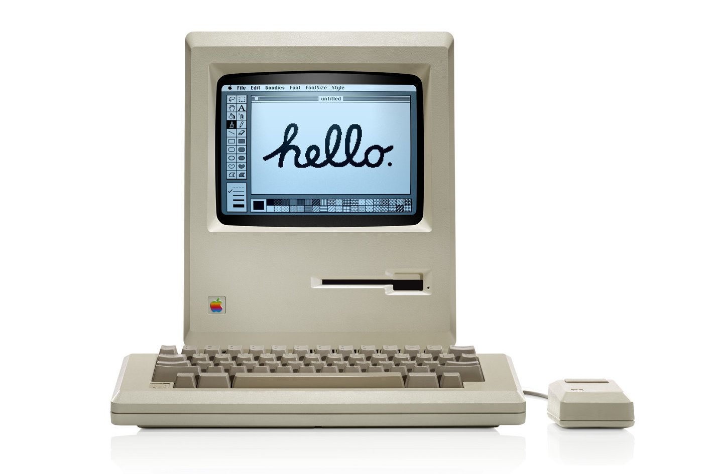 Apple introduces the Macintosh personal computer (1984)