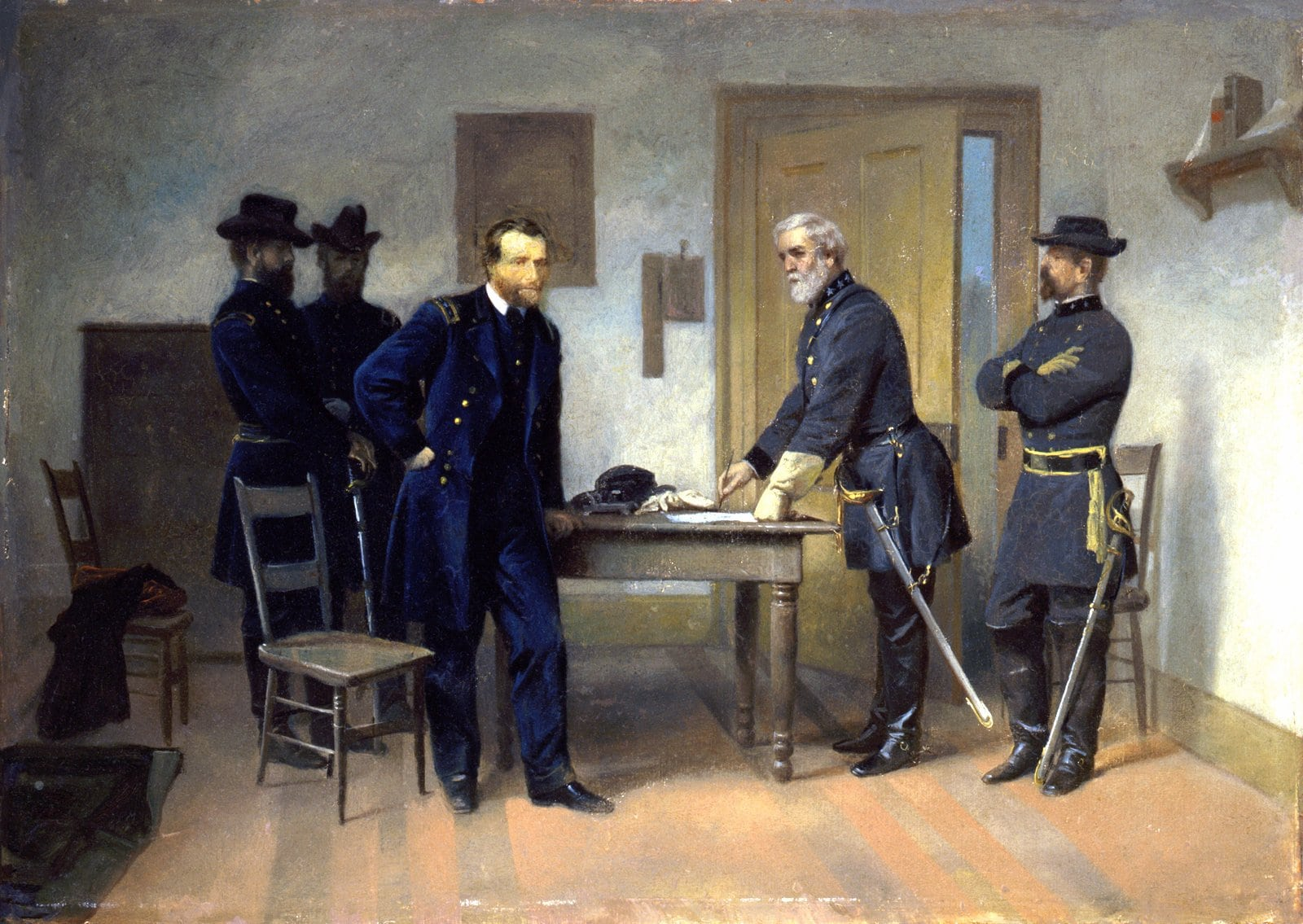 Appomattox Court House - Grant and Lee - End of the Civil War