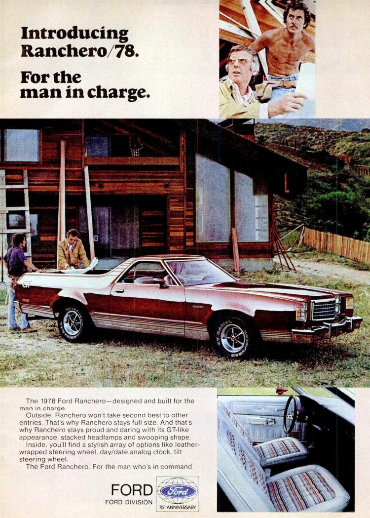 Apr 1978 Ford Ranchero car