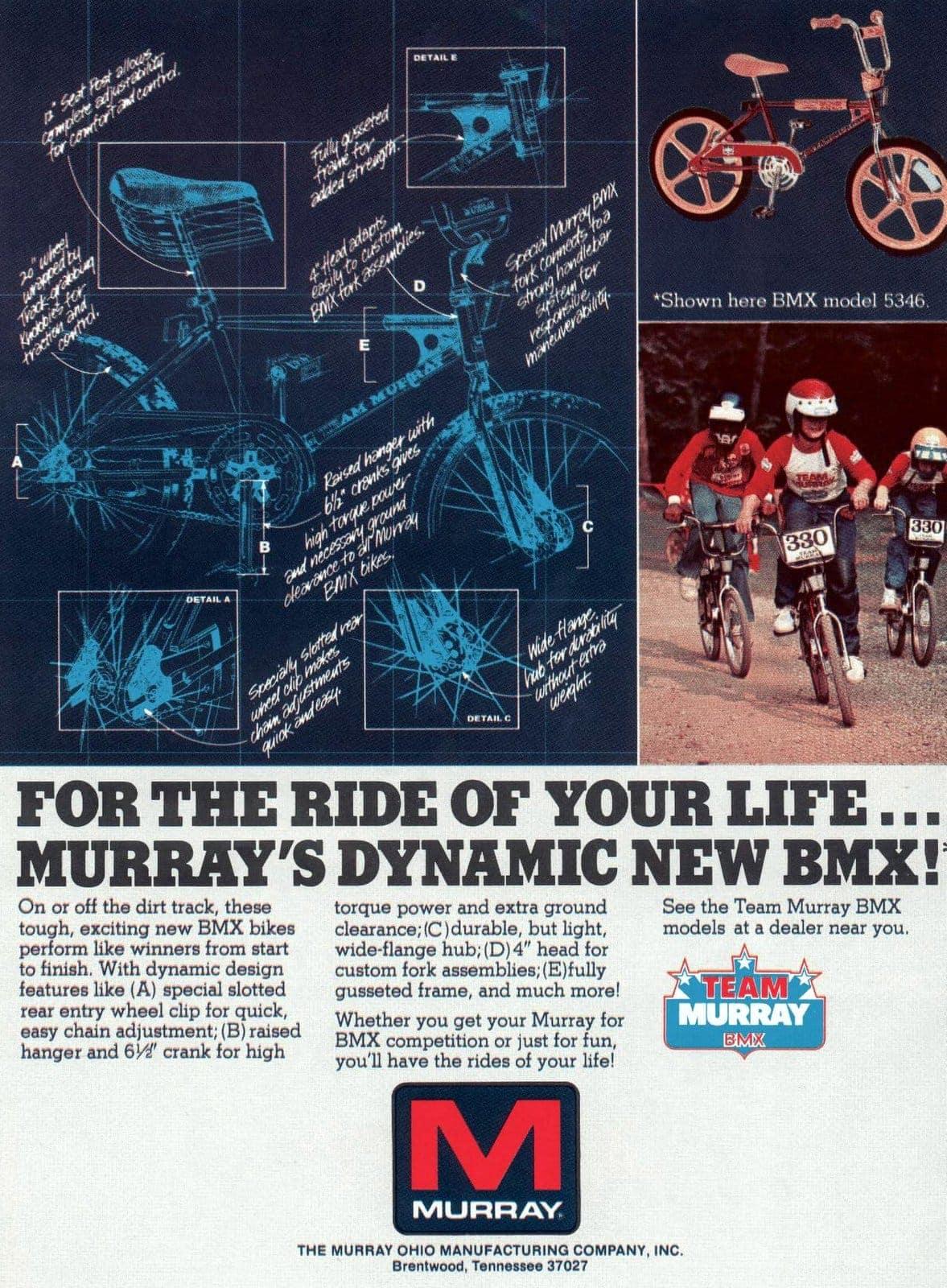 Apr 1980 BMX bikes