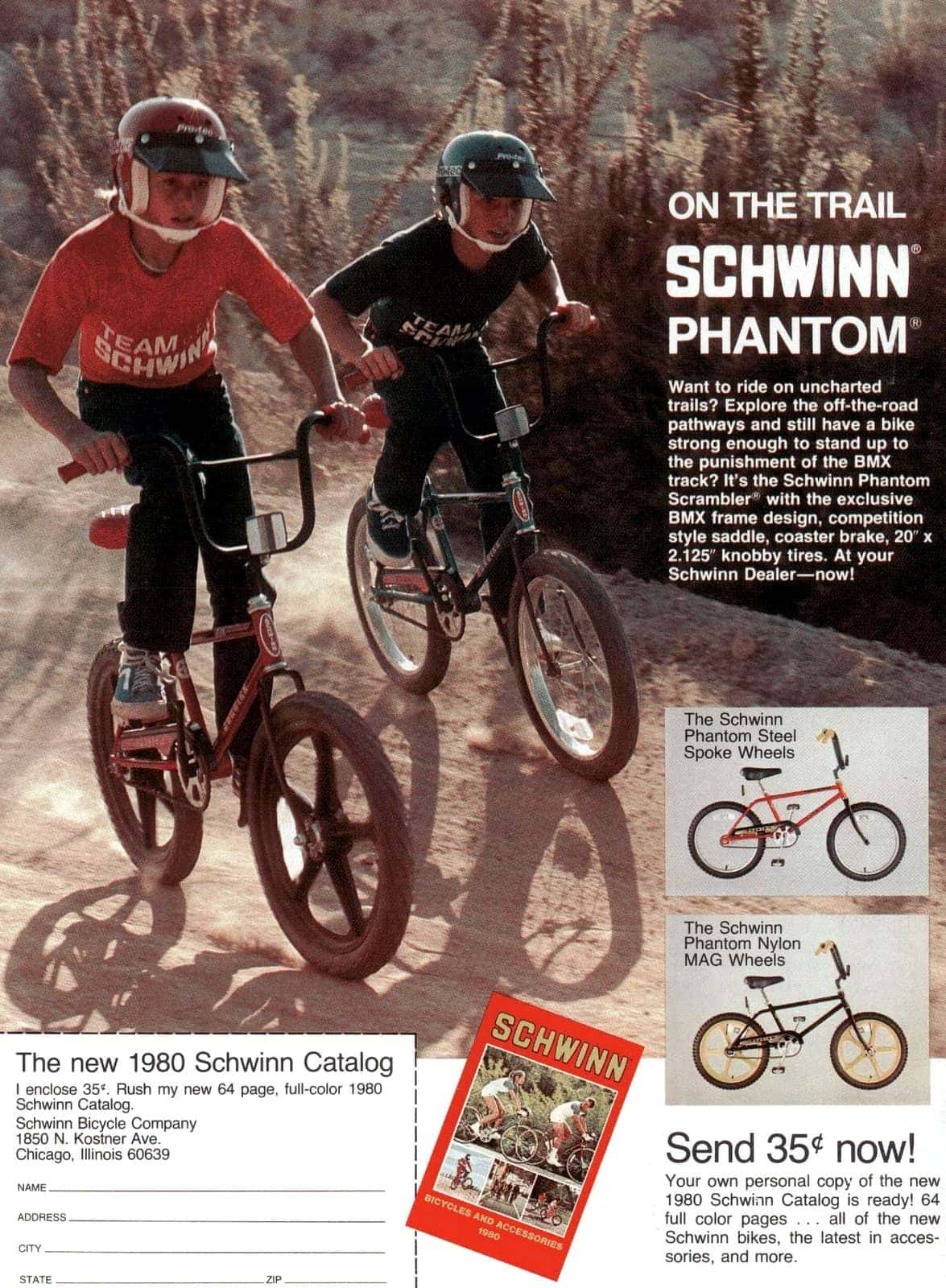 Apr 1980 Schwinn bikes