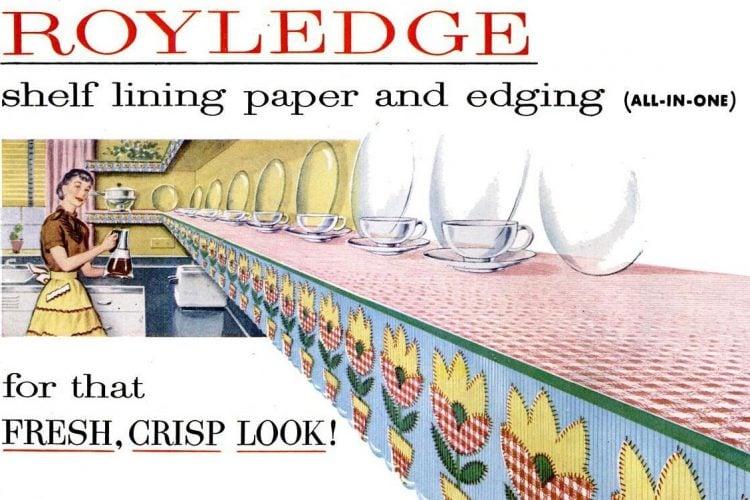 Apr 26, 1954 Royledge kitchen decor