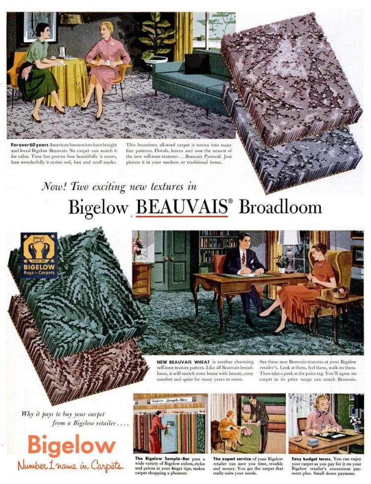 Apr 4, 1955 carpet