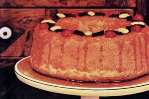 Apricot rum baba vintage recipe (1)