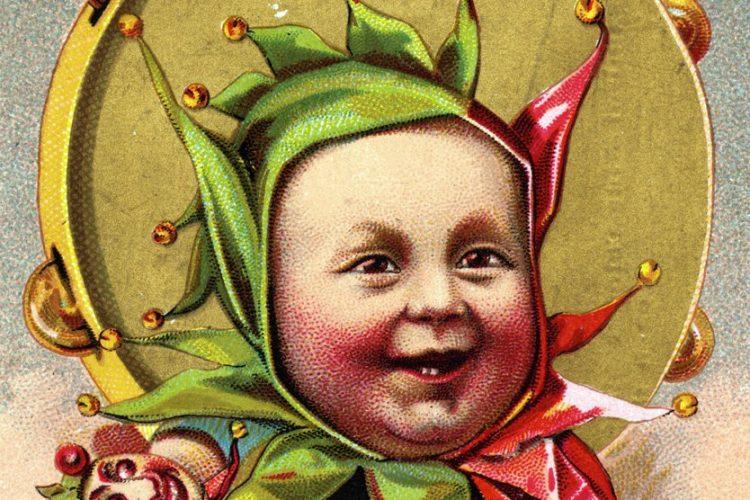 April Fool - Baby jester