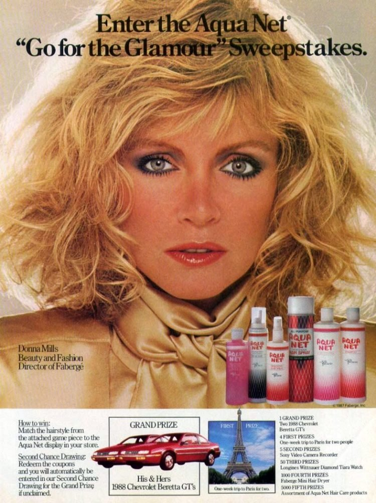Aqua Net with Donna Mills